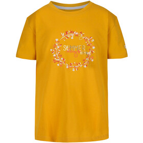 Regatta Bosley III T-Shirt Kinderen, california yellow